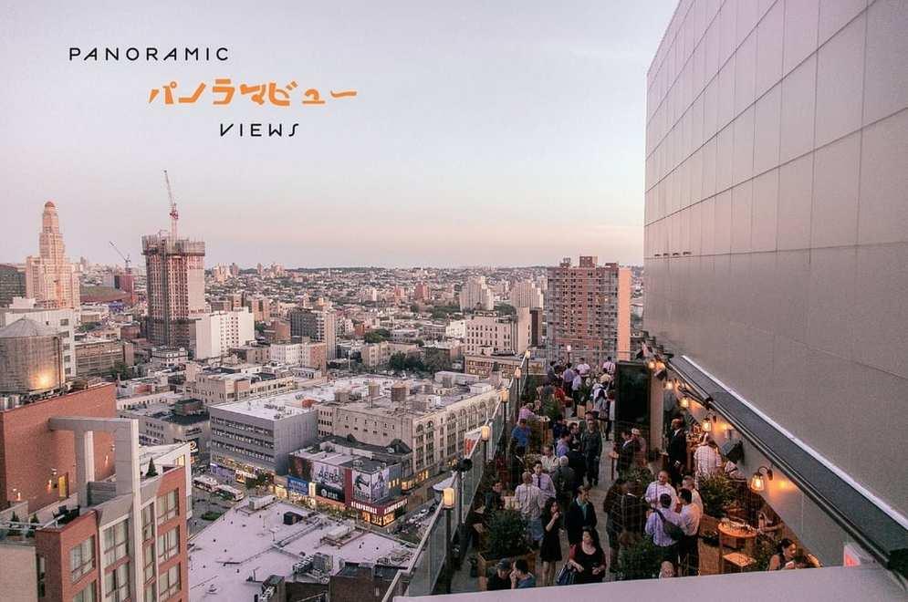 Best 5 Rooftop Bars In Brooklyn