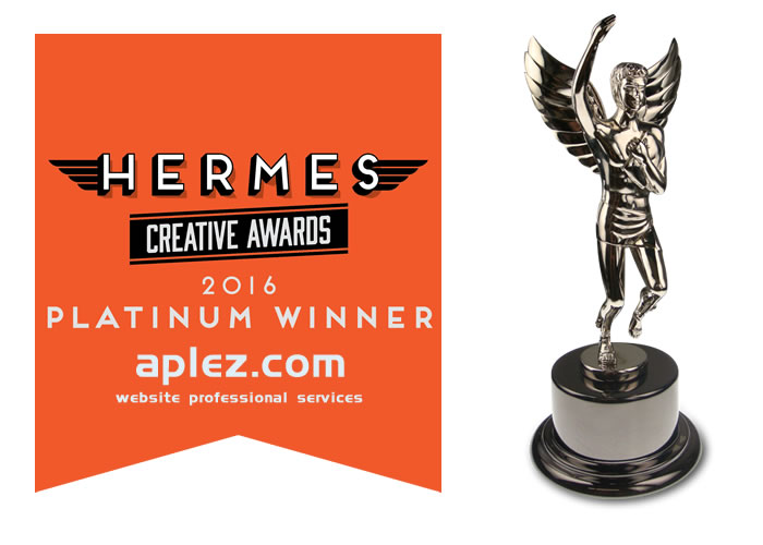 2016 Platinum Hermes Creative Award