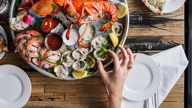 Best Outdoors Restaurants - South Street Seaport,NYC