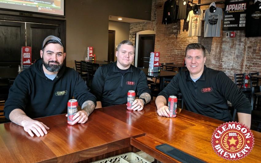 Clemson Brewing Company HOPPY HOUR & $10 Lunch