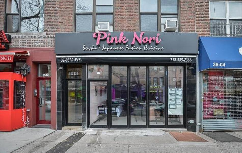 Pink Nori Sushi, Astoria, NY