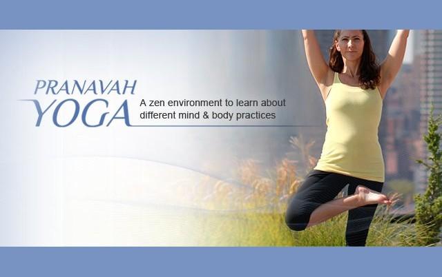 Pranavah Yoga 50% Off Yoga Classes