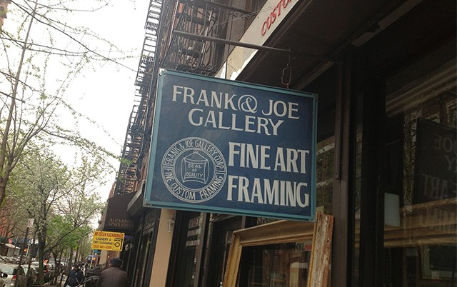 Frank and Joe gallery 10% Off Picture Framing