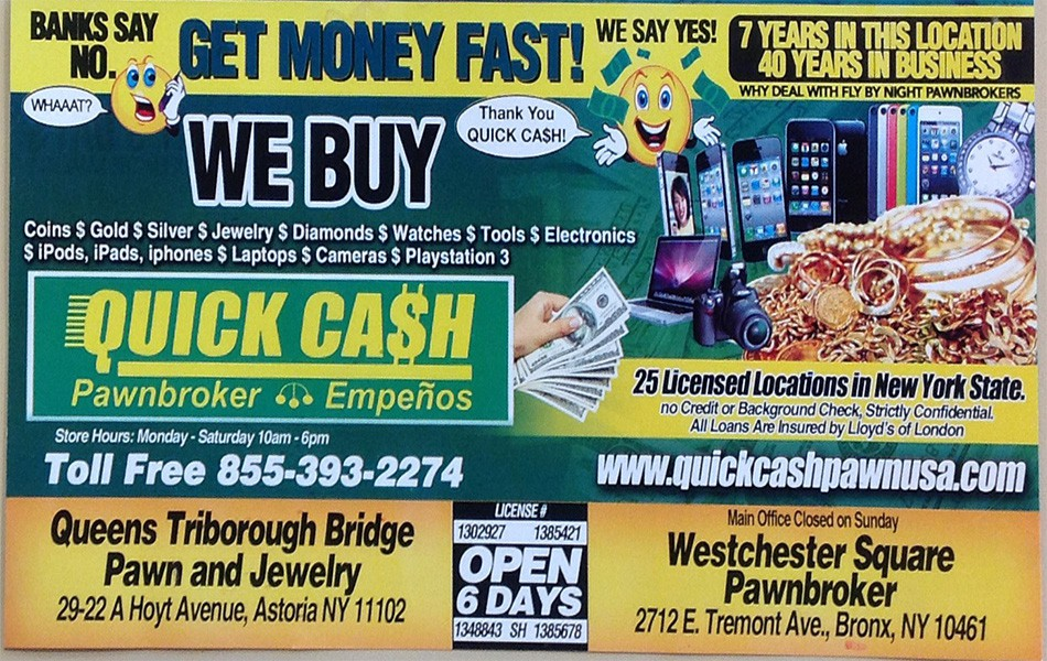 QUICK CASH PAWN USA - ASTORIA