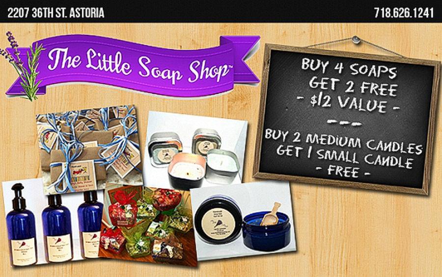 THE LITTLE SOAP SHOP - ASTORIA