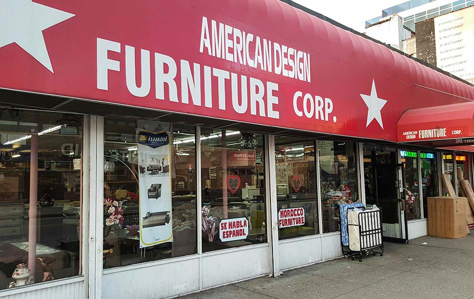 American design furniture carpet corp astoria ny