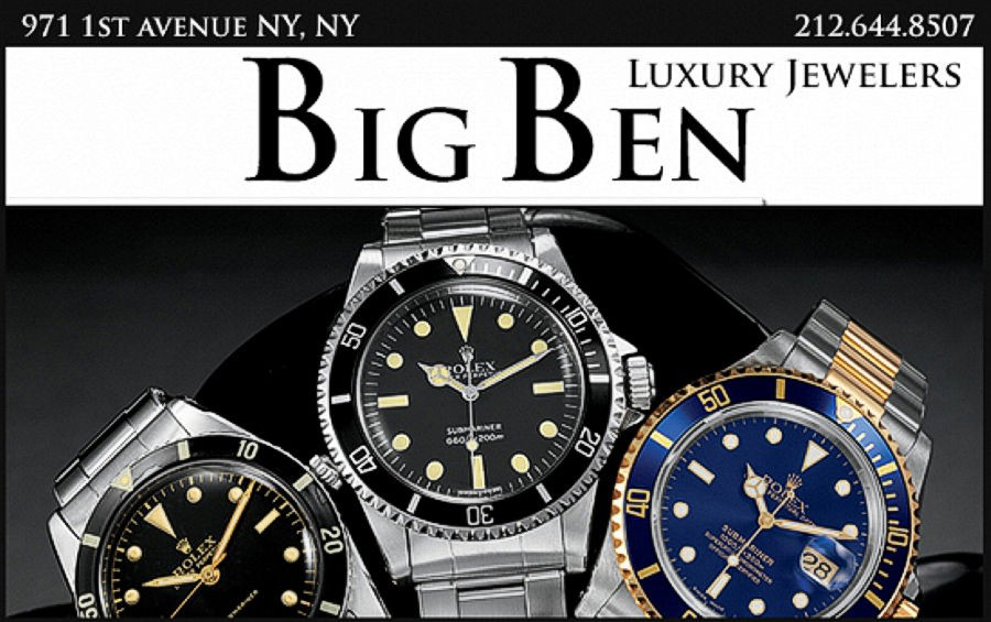 BIG BEN JEWELERS - MANHATTAN
