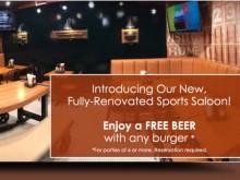 10% Off Online Order/Free Beer