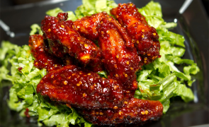 $1 OFF any 1 lb Wing Combo