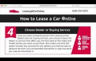 How to Lease a Car Online